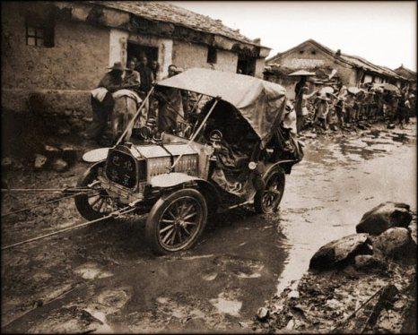 Участник ралли Пекин-Париж. 1907 год. Фото с kanzhongguo.com
