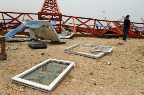 Песчаные бури, ливни и штормы бушуют в Китае. Фото: ChinaFotoPress/Getty Images