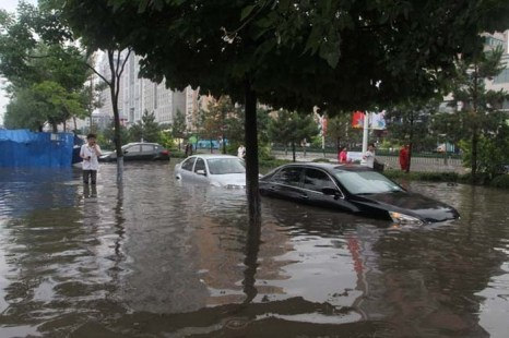 Харбин. Проливные дожди привели к наводнению на северо-востоке Китая. Фото: epochtimes.com