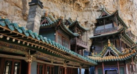 Храм на горе Хэншань. Фото с aboluowang.com