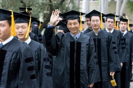 Китайские студенты за границей. Фото: The Epoch Times