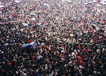 Новогодняя миграция в Китае, которую сами китайцы называют «великим новогодним бедствием». Фото с epochtimes.com