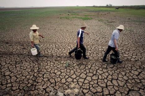 Китай стоит на пороге водного кризиса. Фото: ChinaFotoPress/Getty Images