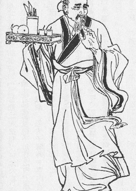 Портрет врача Хуа То из издания романа «Троецарствие» времён династии Цин. Фото: Wikimedia Commons