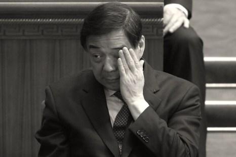 Опальный бывший член Политбюро Бо Силай на заключительной сессии Всекитайского комитета Народного политического консультативного совета Китая в Большом зале народных собраний, 13 марта 2012 года, Пекин, Китай. (Lintao Zhang / Getty Images)