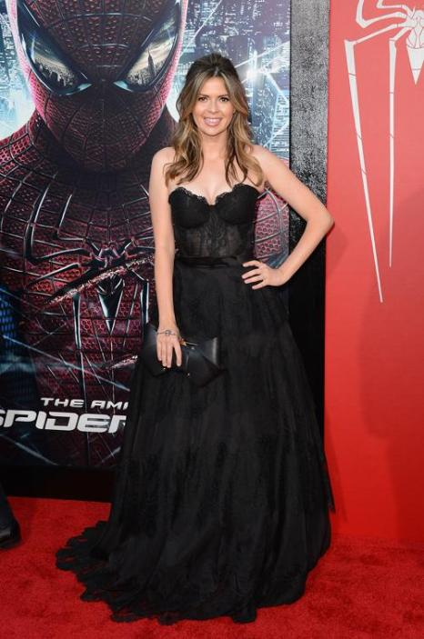 Знаменитости на премьере фильма «Удивительный Человек-паук» в Вествуде. Carly Steel. Фоторепортаж. Фото: Alberto E. Rodriguez/Getty Images