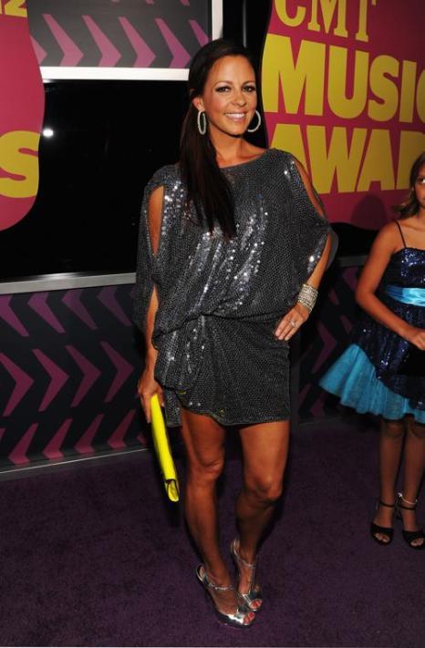 Участники CMT Music awards. Sara Evans. Фоторепортаж из  Нэшвилла. Фото: Rick Diamond/Getty Images for CMT