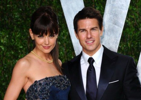 Tom Cruise; Katie Holmes. Фото:  Alberto E. Rodriguez/Getty Images