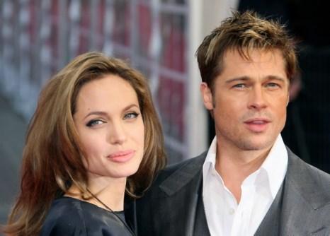 Актриса Анджелина Джоли и актер Бред Питт. Фото: FRANCOIS GUILLOT/AFP/Getty Images