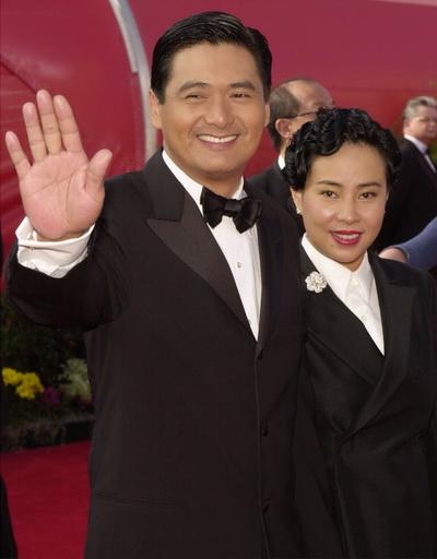 Фоторепортаж. Актер Юнь-Фат Чоу с супругой Жасмин Чоу. Фото: Chris Weeks/Getty Images