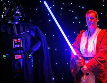Рекламная кампания «Звездных войн». Фото: Scott Barbour/Getty Images