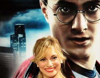 Испанская актриса Норма Руиз посетила премьеру фильма «Гарри Поттер и Принц-полукровка» в Мадриде, Испания. Фото: Carlos Alvarez/Getty Images