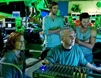 Джеймс Кэмерон работает над фильмом «Аватар». Фото: The Epoch Times