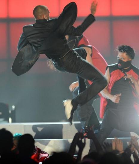 Крис Браун на церемонии Billboard Music Awards 2013 в Лас-Вегасе 19 мая 2013 года. Фото: Ethan Miller/Getty Images
