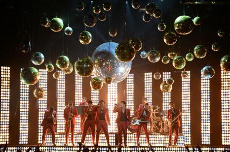 Бруно Марс на церемонии Billboard Music Awards 2013 в Лас-Вегасе 19 мая 2013 года. Фото: Ethan Miller/Getty Images