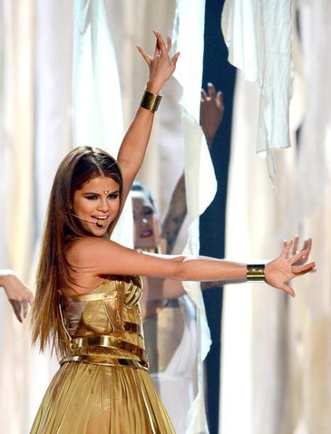 Селена Гомес на церемонии Billboard Music Awards 2013 в Лас-Вегасе 19 мая 2013 года. Фото: Ethan Miller/Getty Images
