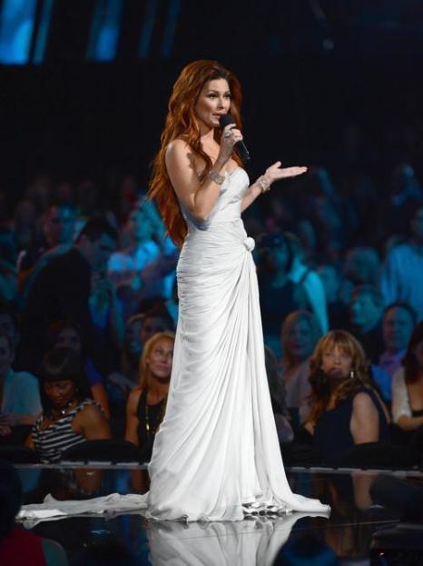 Шанайя Твейн на церемонии Billboard Music Awards 2013 в Лас-Вегасе 19 мая 2013 года. Фото: Ethan Miller/Getty Images