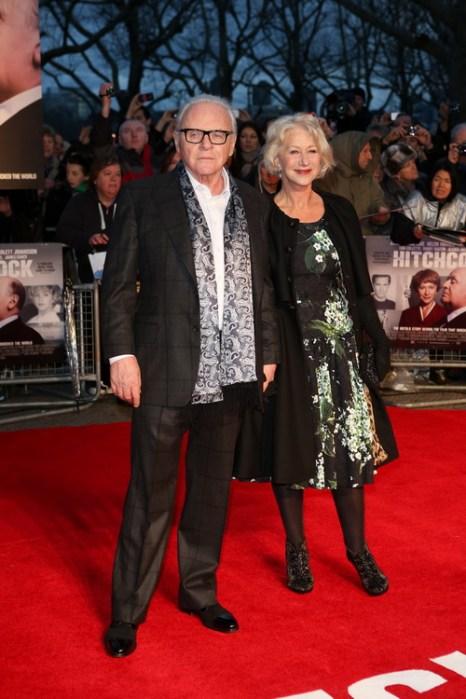 «Хичкок». Энтони Хопкинс и Хелен Миррен на премьере фильма «Хичкок» в Лондоне, Англия. Фото: Tim Whitby/Getty Images