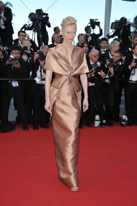 «Королевство полной луны». Актриса Тильда Суинтон на кинофестивале в Каннах. Фото: Pascal Le Segretain/Getty Images