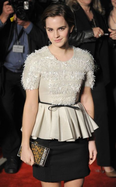 «Идеи для платья к выпускному от кинозвезд». Эмма Уотсон. Фото: Stuart Wilson/Getty Images