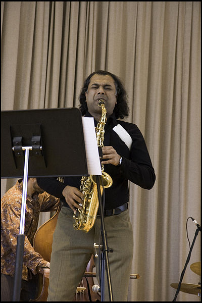 Нью-йоркский саксофонист Rudresh Mahanthappa. Фото: Sheldon (Shelly) Levy/commons.wikimedia.org