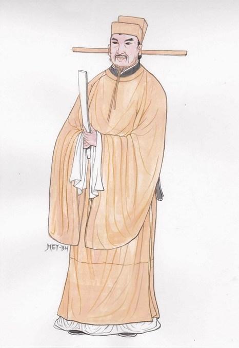 Ван Аньши — реформатор и литератор династии Сун. Иллюстрация: Blue Hsiao/Великая Эпоха (The Epoch Times)