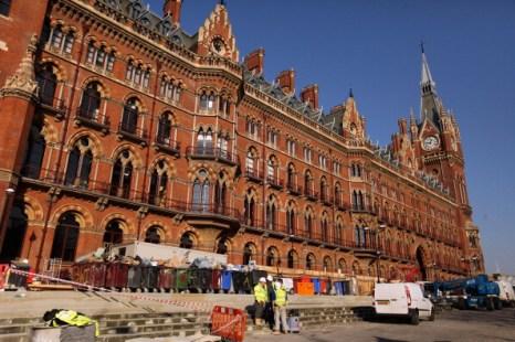 Отель Сент-Панкрас Ренессанса, Лондон. Фото: Oli Scarff/Getty Images