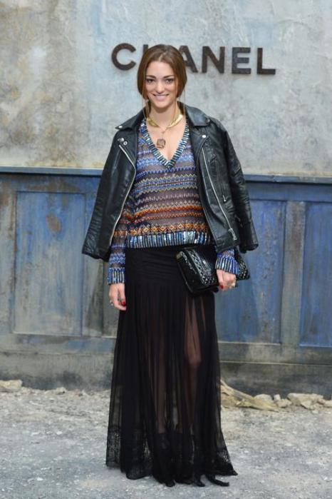 София Санчес на показе новой коллекции Chanel в Париже 2 июля 2013 года. Фото: Pascal Le Segretain/Getty Images