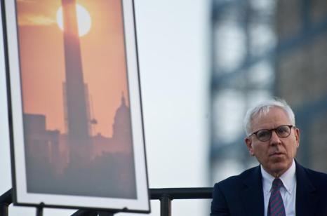 Сo-основатель и со-директор Carlyle Group Дэвид Рубенштейн выступил 8 июля 2013 года. Фото: NICHOLAS KAMM/AFP/Getty Images