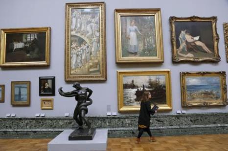 Национальная коллекция британского искусства представлена к его 500-летию. Фото: Warrick Page/Getty Images