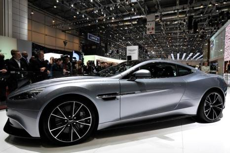 Aston Martin Vanquish. Фото: Harold Cunningham/Getty Images