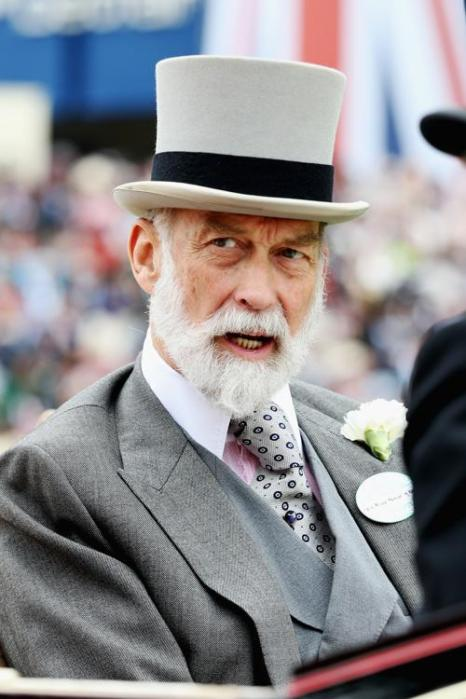 Принц Майкл Кентский прибыл на скачки Royal Ascot. Фото: Chris Jackson/Getty Images for Ascot Racecourse