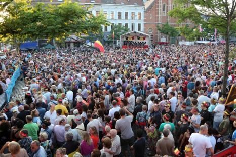 Праздник в честь отречения и коронации в Брюсселе (Бельгия) 20 июля 2013 года. Фото: Mark Renders/Getty Images