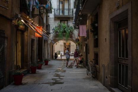 Улицы Барселоны. 25 июля 2013 года. Фото: David Ramos/Getty Images