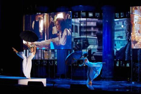 Церемония закрытия фестиваля ММКФ прошла в Пушкинском. Фото: Oleg Nikishin/Getty Images for Artefact