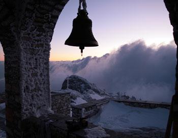 Восхождение на Святой Афон.  Фото предоставлено Валентином Ефремовым