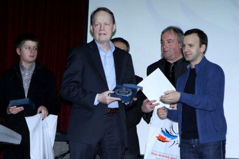 Игорь Давыдов, Туомо Сумманен, Юрий Давыдов и Аркадий Дворкович. Фото предоставлено PR агентством Diamond Group