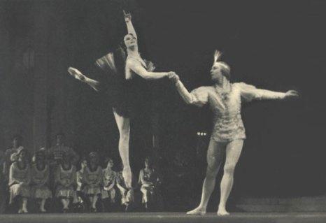 В партии Одилли в балете
