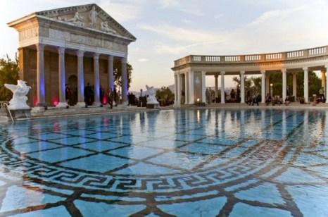 Замок Херста, Сан-Симеон. Знаменитый бассейн Нептун воскрешает былые времена в замке Уильяма Рэндольфа Херста. Сейчас это государственный памятник в Сан-Симеоне. Фото: Paul Ross