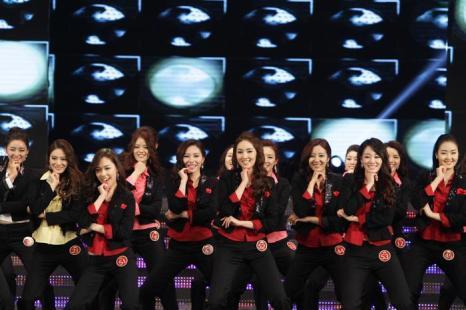 В конкурсе приняли участие 20 красавиц. Фото: Chung Sung-Jun/Getty Images