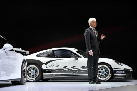 Porsche AG генеральный директор Маттиас Мюллер. Фото: Harold Cunningham/Getty Images