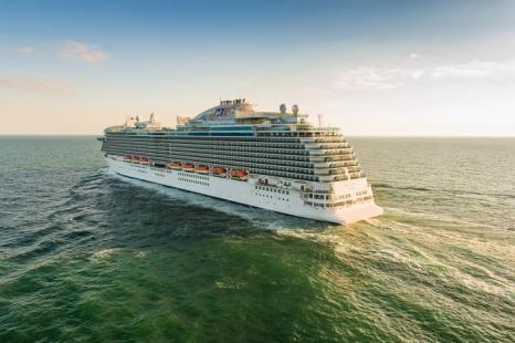 Круизный лайнер «Принцесса». Фото: Phill Jackson/Royal Princess & Princess Cruises via Getty Images