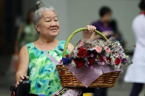 День влюблённых в Сингапуре. Фото: Suhaimi Abdullah/Getty Images