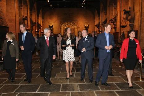 Герцоги Кембриджские посетили студию Гарри Поттера. Фото: Chris Jackson - WPA Pool/Getty Images