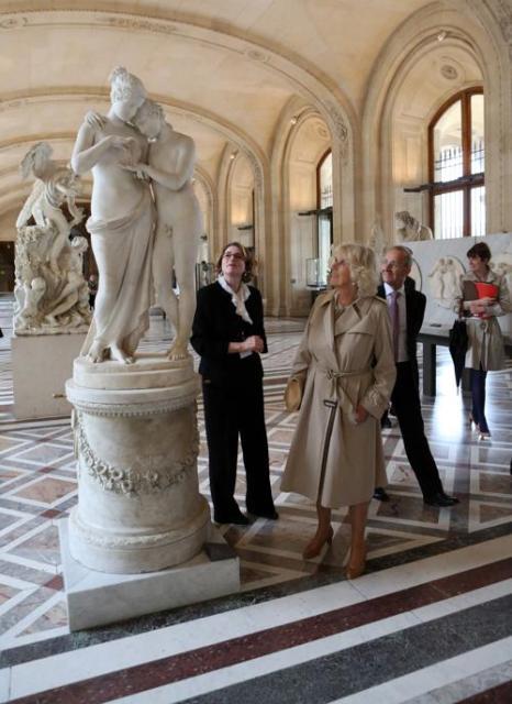 Герцогиня Корнуолла Камилла посетила Париж с двухдневным визитом. Фото: Chris Radburn - WPA Pool /Getty Images