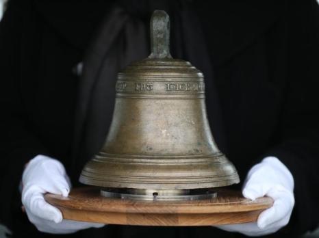 Оригинальный колокол с корабля Мэри Роуз. Фото: Peter Macdiarmid/Getty Images