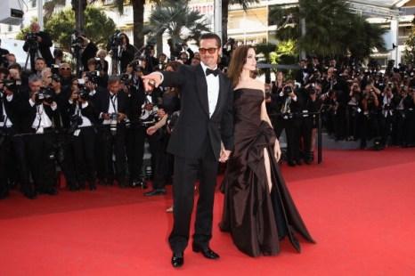 Анджелина Джоли и Брэд Питт, 16 мая 2011, Канны, Франция. Фото: Francois Durand/Getty Images