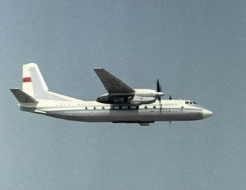 Пассажирский самолет Ан-24. Фото РИА Новости