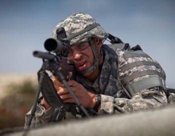 Американский солдат. Фото: Dave Nagel/Getty Images