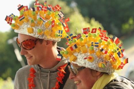 Поклонники на «Евровидении 2011», Дюссельдорф. Фото: Sean Gallup/Getty Images